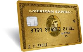 UK amex shop small gold card