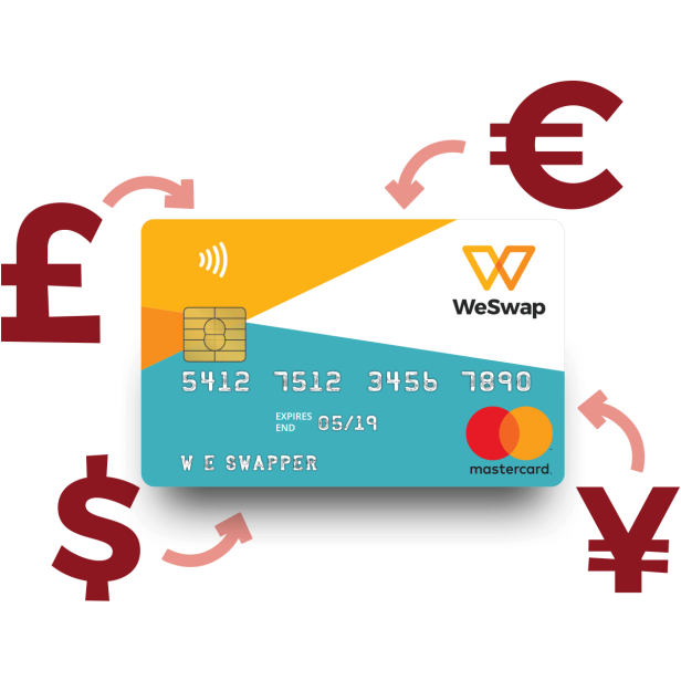 WeSwap Currency Exchange Travel Hack