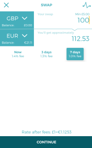 WeSwap Screenshot