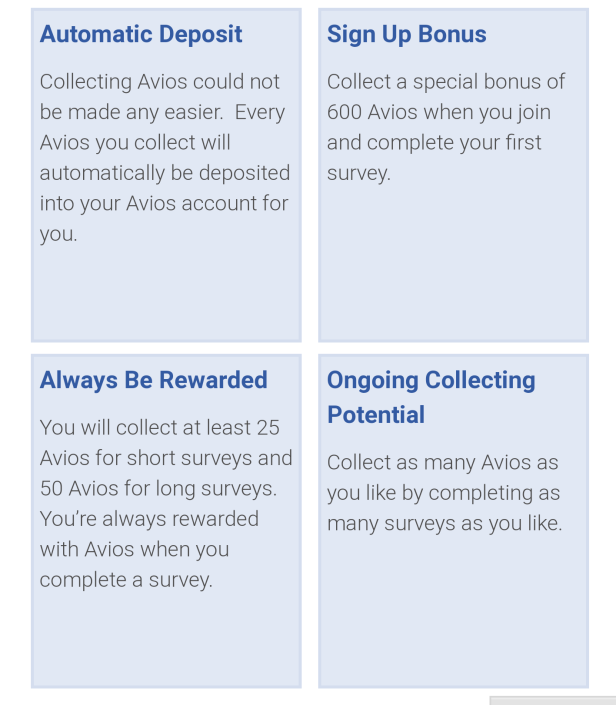 Free Avios Surveys 2